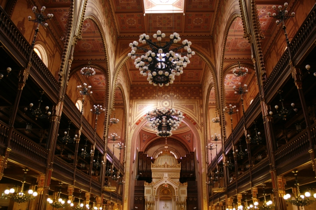 Inside the Historic Synagogue